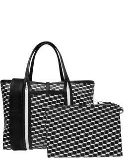 PIERRE HARDY Pierre Hardy Polycube Tote Bag - Canvas Cube