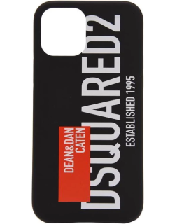 DSQUARED2 Red Tag Phone Case - Black M1296