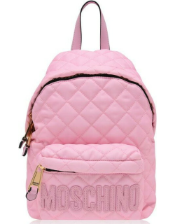 MOSCHINO Moschino Quilted Backpack - Pink B1224