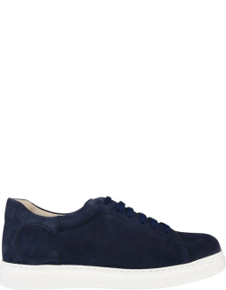 CANALI Suede Trainers - Navy 312