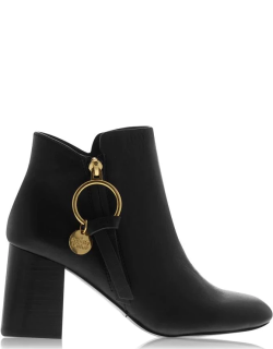 See By Chloe See By Chloe Pendant Ankle Boots - 999 NERO