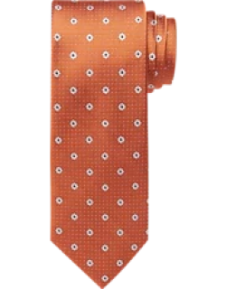 Traveler Collection Floral Dot Tie