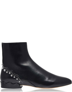CHLOE Pearl Ankle Boots - Black 001
