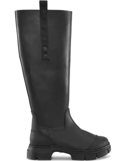 GANNI Country Boots - Black