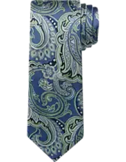 Reserve Collection Scrolling Floral Tapestry Tie - Long