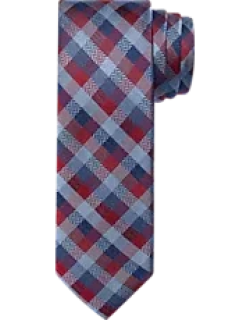 1905 Collection Textured Check Tie