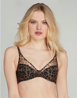 Agent Provocateur Lucky Padded Bra - Leopard