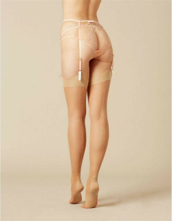 Agent Provocateur Opale Stockings - Champagne