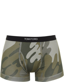 TOM FORD Print Boxer Briefs - Military 308