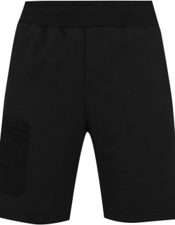 A-COLD-WALL Logo Embroidered Jersey Shorts - Black
