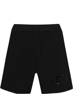 DSquared2 Icon Jersey Shorts - Black 992