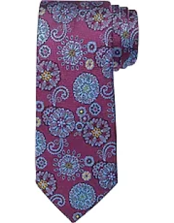 Reserve Collection Floral Medallion Tie