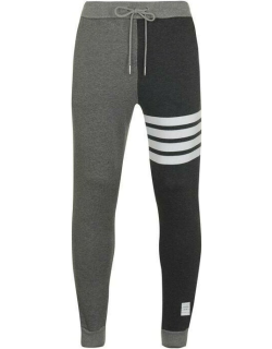 Thom Browne Contrast Joggers - GREY