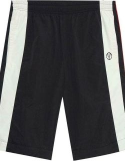 VETEMENTS Zip-Off Tracksuit Trousers - BLACK/RED