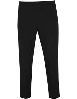 Kenzo Tapered Cropped Trousers - BLACK