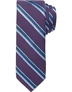 1905 Collection Stripe and Herringbone Pattern Tie