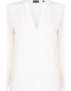Emme Stante Tunic Blouse - 001 Wool Wht