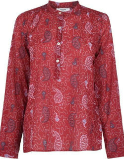 Isabel Marant Etoile Maria Blouse - Red 70RD