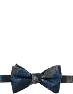 Jos. A. Bank Textured Stripe Pre-Tied Bow Tie CLEARANCE