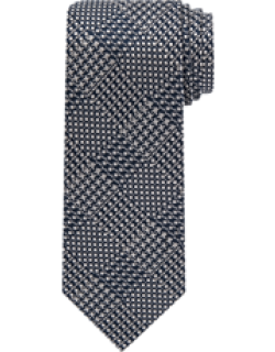 Reserve Collection Houndstooth Plaid Tie