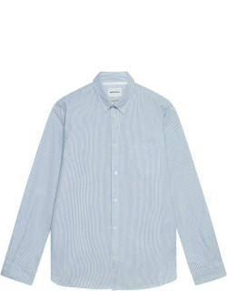 Norse Projects Anton Oxford Shirt - BLUE