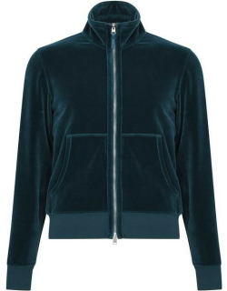 TOM FORD Velour Track Top - Blue T08