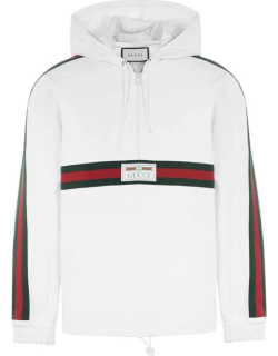 GUCCI Tape Tracksuit Top - White 9061