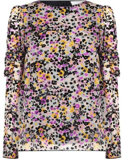 See By Chloe SBC Floral Blouse Ld92 - Multi Black