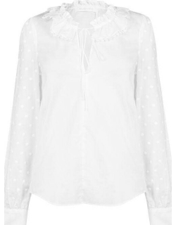 See By Chloe SBC FunnelNeck TopLd92 - White