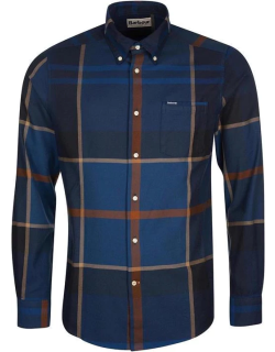 Barbour Dunoon Tailored Shirt - Midnight TN54