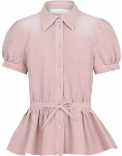 See by Chloe Tie Blouse - Cameo Rose 6K1