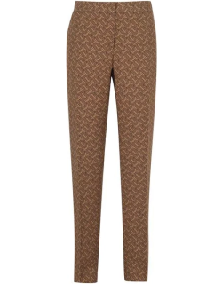 BURBERRY Hanover Trousers - Tawny
