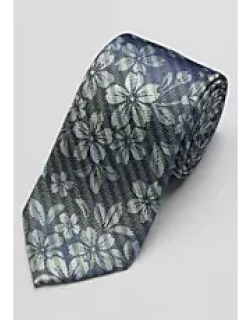 1905 Collection Stripe and Floral Tie