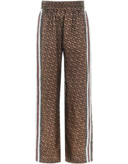 BURBERRY Burberry Wide Leg Trouser - Briddle Brown