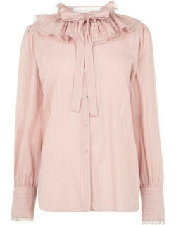 See By Chloe SBC TieNeck Blouse Ld03 - Cloudy Rose 6K9
