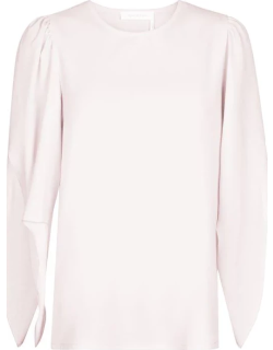 See By Chloe See By Chloe Short Sleeve Blouse - 6E9 Pink Sand