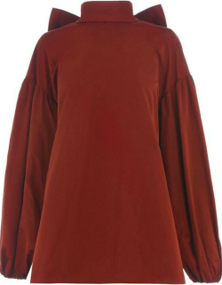 VALENTINO Bow Sleeve Blouse - Persia GY3