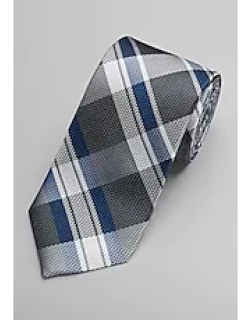 1905 Collection Woven Plaid Tie