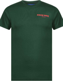 Know Wave Building Blocks T Shirt - Green