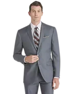 Traveler Collection Slim Fit Sharkskin Men's Suit Separate Jacket - Big & Tall CLEARANCE by JoS. A. Bank