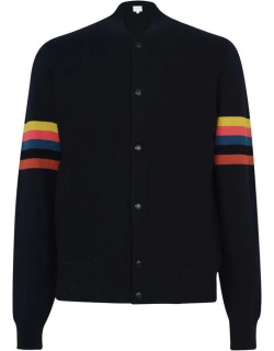 Paul Smith Paul Smith Knitted Bomber - Navy 49
