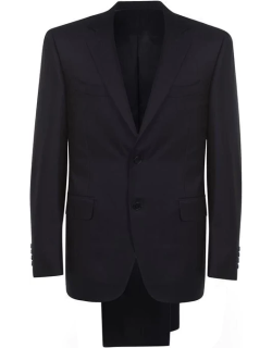 CANALI Tailored Suit - Navy