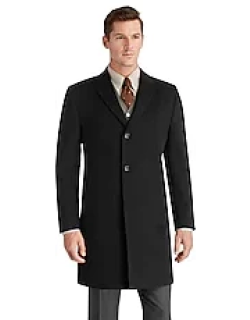 Joseph A. Bank Tailored Fit Overcoat CLEARANCE