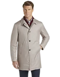 Travel Tech Tailored Fit Trench Coat CLEARANCE