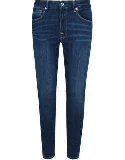 GOOD AMERICAN Cropped Skinny Jeans - Blue260