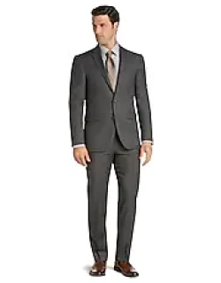 Traveler Collection Slim Fit Micro Check Men's Suit Separate Jacket CLEARANCE by JoS. A. Bank