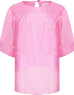 See By Chloe SBC Woven Blouse Ld92 - CONFETTI PINK