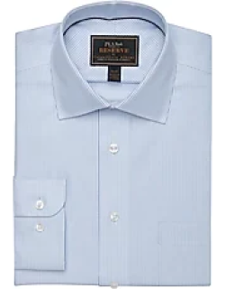 Reserve Collection Tailored Fit Spread Collar Mini Check Dress Shirt - Big & Tall CLEARANCE, by JoS. A. Bank