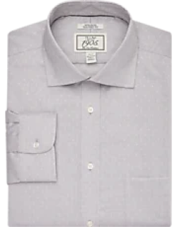 1905 Collection Tailored Fit Cutaway Collar Floral Dot Dress Shirt - Big & Tall CLEARANCE, by JoS. A. Bank
