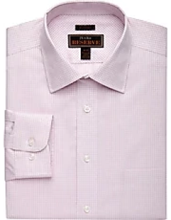 Reserve Collection Tailored Fit Cutaway Collar Check Dress Shirt - Big & Tall CLEARANCE, by JoS. A. Bank